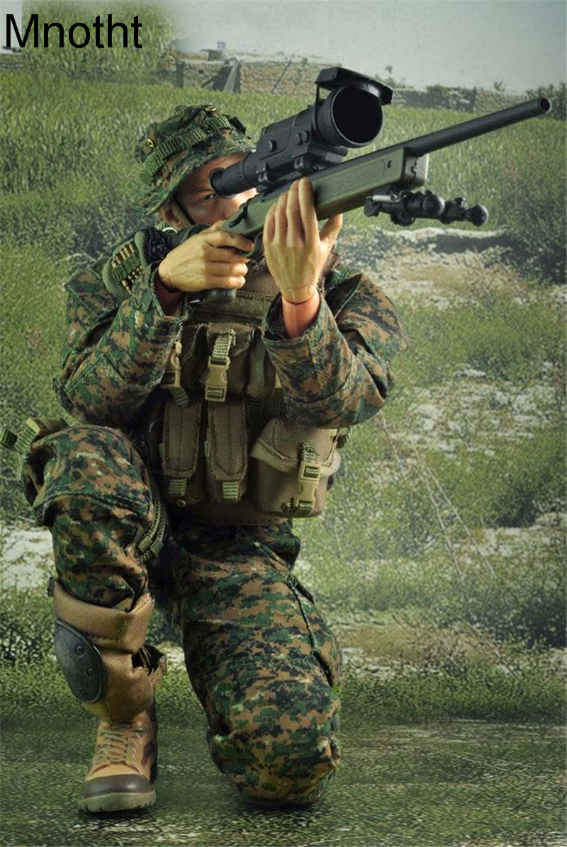 Mnotht 1/6 VH 1014-C Marine Corps M40A3 Suit Clothes Military model For 12in Action Figure Toy l3 collection solider model toy