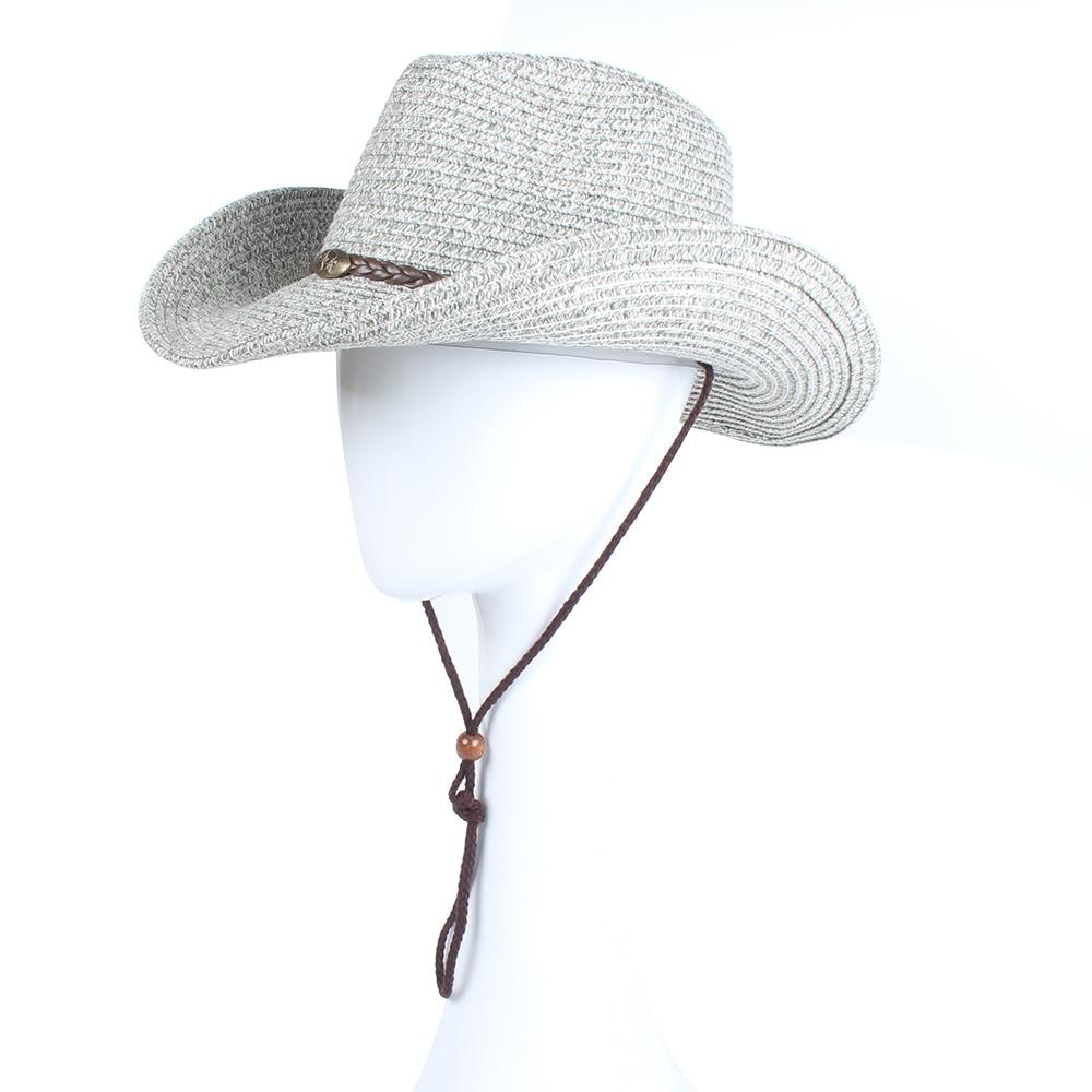 Difanni Western Cowboy Caps Sun Hats For Couple Sombreros Vaquero ...