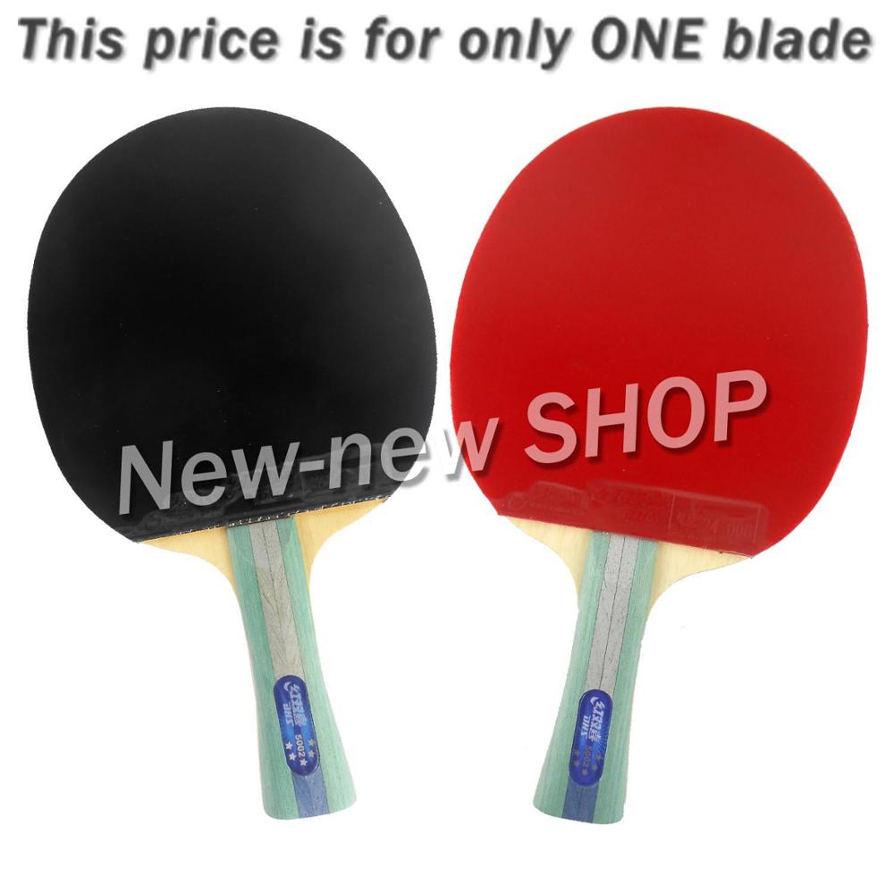 DHS 5002 Long Shakehand FL Table Tennis Ping Pong Racket + a Paddle Bag dhs 4002 4006 ping pong paddle table tennis racket