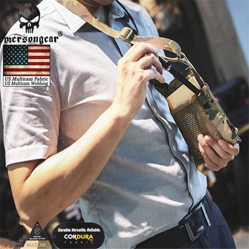 Emersongear Army Fan Tactical ID Card Case Patch Neck Lanyard and Credit Card Organizer ID Card Holder  by Genuine US multicam-in Pouches from Sports & Entertainment