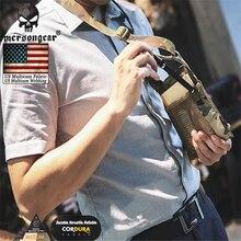 Étui pour carte didentité tactique Emersongear armée Fan lanière de cou et organisateur de carte de crédit porte carte didentité par véritable US multicam