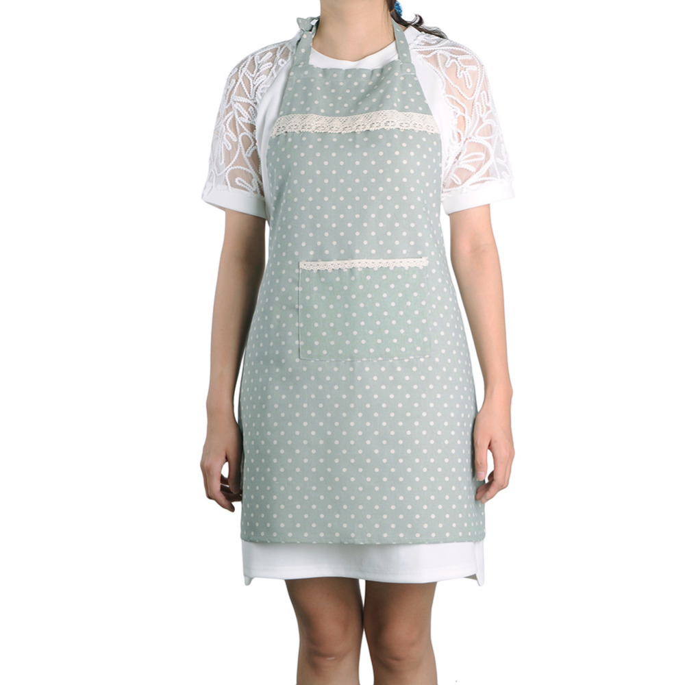 White apron dubai - Cotton Fabric Aprons Home Leisure Catering Sleeveless Kitchen Cooking Cleaning Sanitary Coffee Shop Apron Kitchen Accessories