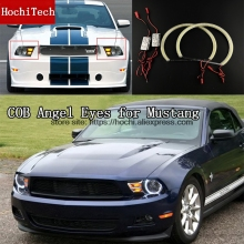 High Quality COB Led Light White Halo Cob Led Angel Eyes Ring Error Free for ford mustang 2010 2011 2012