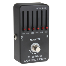 JOYO JF-11 Professional True Bypass 6-Bands Guitar Equalizer Effects