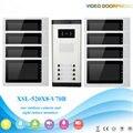 "8 Apartment Wired Video Door Phone Intercom System 7""Inch Monitor IR Camera Video Intercom DoorPhone Doorbell Kit"