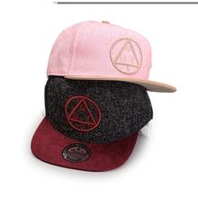 Baseball Cap Flat-brimmed Hats Hip-hop Cap Letters Embroidery Triangle Deus Hat Casual Outdoor Snapback Hats Cap For Men Women