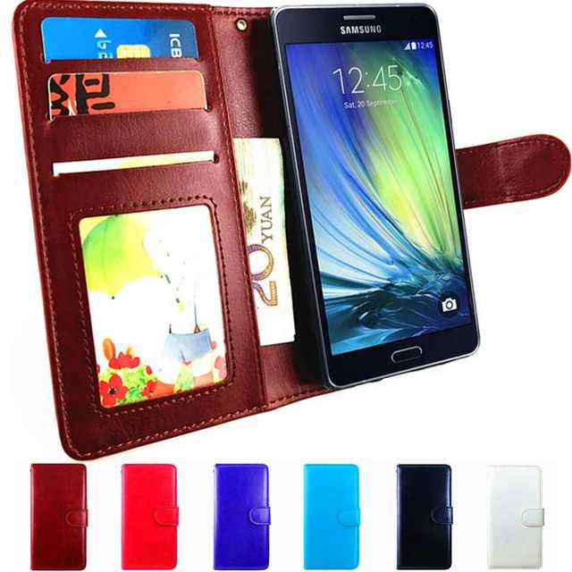 big sale 3b5ff 2b800 US $3.69 20% OFF|A3 2015 Case Flip Leather Wallet Cover For Samsung Galaxy  A3 2015 SM A300F Case Cover A3 2014 A300F SM A300 Dous A 3 Phone Book-in ...