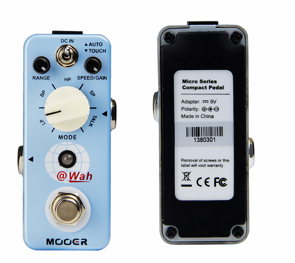 Mooer Envelope Filter Guitar Effects Pedal Analog Auto Wah Guitar Pedal Ture Bypass Guitar Accessories mooer hustle drive overdrive guitar effects pedal true bypass guitar pedal guitar accessories