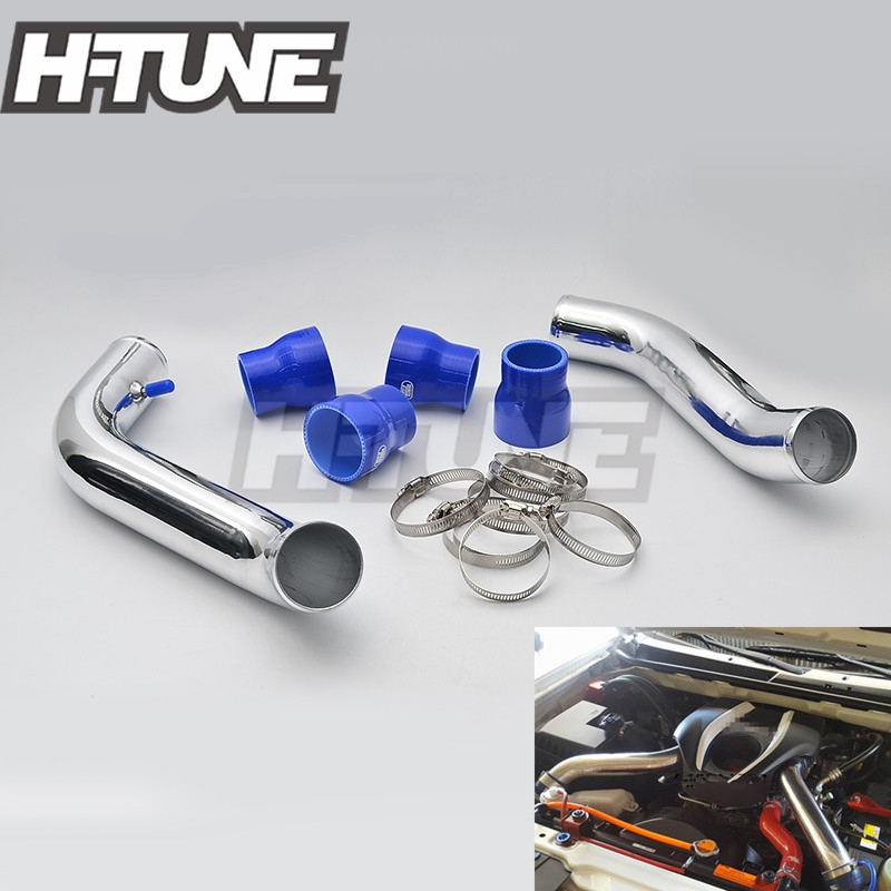 H-TUNE Turbo Diesel 2.5 Intercooler Piping Pipes Kits for D-max 2.5L 4JK1 2012++ lr031466 lr020401 intercooler 2 2l turbo diesel for evoque 2012 freelander 2 2006 charge air cooler engine spare parts supply