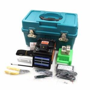 Image 3 - DVP İngilizce menü Fiber füzyon yapıştırma makinesi DVP 760H Fiber optik birleştirme aleti DVP760H 760 FTTH optik fiber füzyon kaynak