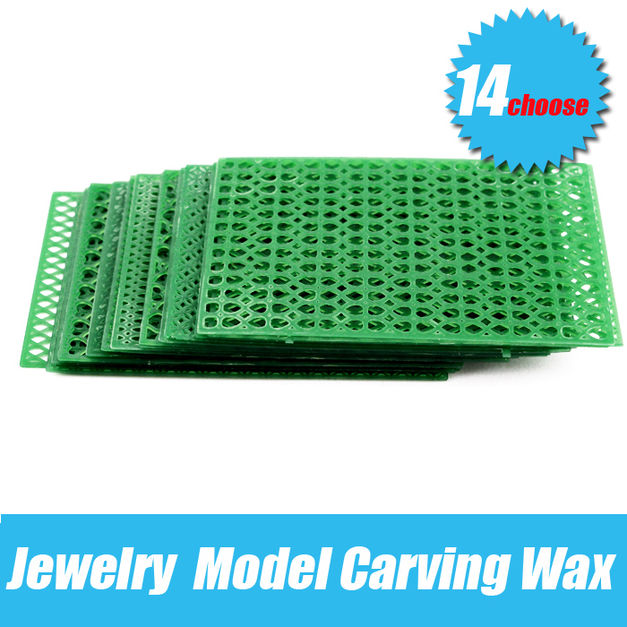 Wax Carving Slice Block Brick Green Jewelry Model Design Engrave Settings