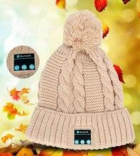 Wireless Bluetooth Headphone Hat Cap Bluetooth Earphone Headphones Stereo Music Warm Casque AudioHeadset For Iphone