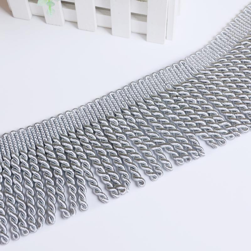 12 Yards/lot Gold Tassel Trim Decoration For Home Textile Drapery Sewing Garments Tablecloth Sofa Cover Home Cushion Decoration