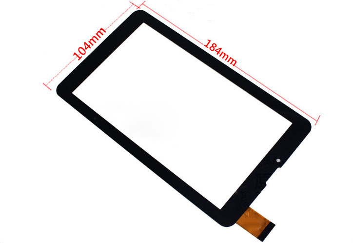 7 New Capacitive Touch Screen Digitizer Glass For Oysters T7V 3G /Crown B705 /Explay Hit /S02 3G /Surfer 7.34 /Icoo D70 for explay dream lcd touch digitizer screen for explay dream with capacitive multitouch screen black color by free shipping