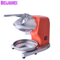 BEIJAMEI Portable Manual Ice Crusher Shaver Shredding Crushed Ice Making Machine Kitchen Appliance For Kid