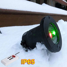 New US plug Red Green Xmas Decoration Holiday Light Star Projector IP65 Waterproof Landscape with remote Control