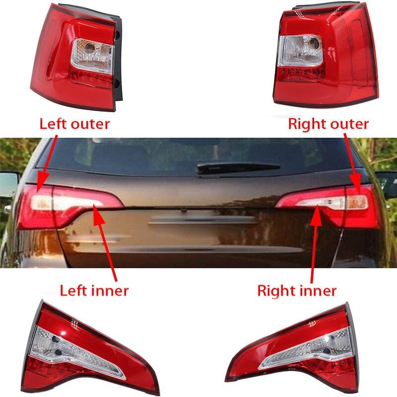 1pcs LED Rear taillight Brake Light For KIA sorento 2013 2014 Tail lamp taillamp light Stop