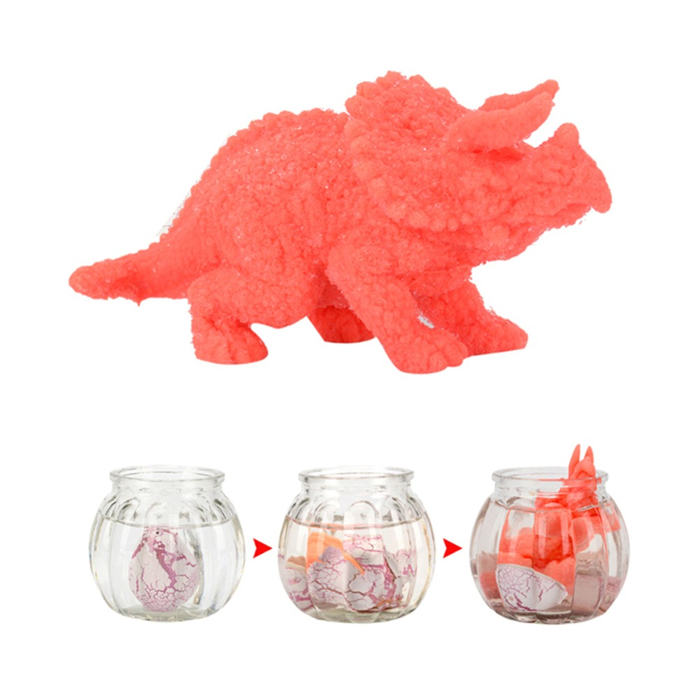 Novelty Gag Toys For Kids Child Educational Add Water Growing Dinosaur Toys Gifts Big Cute Magic Hatching Growing Dinosaur Eggs