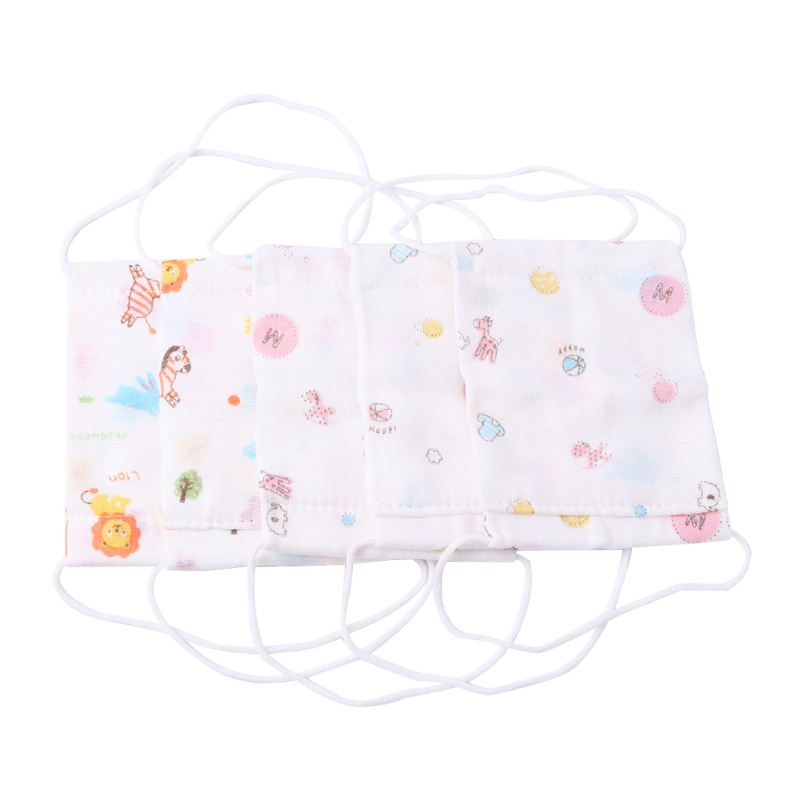 2018 Kids Mouth Mask Gauze Anti Dust Face Muffle Floral Breathable Baby Windproof Flu Oct22_A Yamaha XSR900