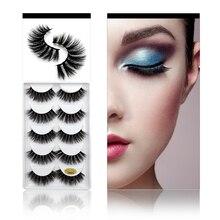 3D Mink Lashes 100% Cruelty free Handmade Mink Eyelashes Full Strip Lashes Soft False Eyelash For Makeups Cilio Lashes Faux Cils