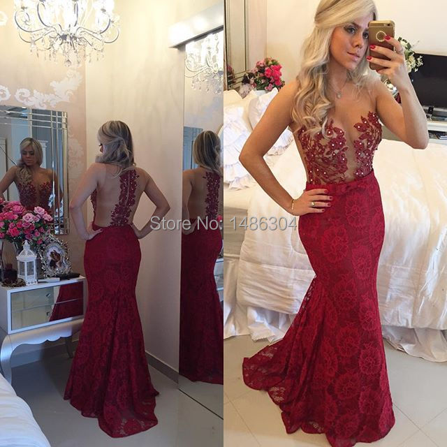 Cheap burgundy prom dresses
