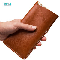 Slim Outdoor Genuine Leather Belt Pouch Case For Wiko Lenny5 Lenny4 plus Lenny3 max Lenny2