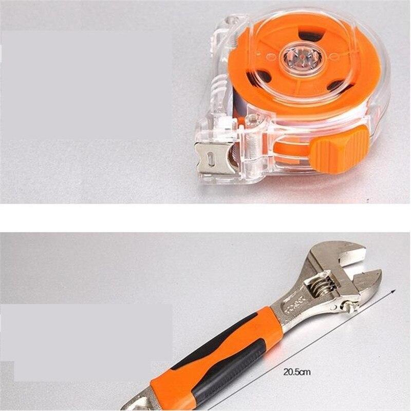138 PCS Kit de herramientas multifuncionales Hardware Kit para el - Juegos de herramientas - foto 4