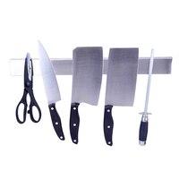 30 CM Wall Mount Magnetica del Coltello Da Cucina Cremagliera In Acciaio Inox Forbici Strumenti di Stoccaggio Titolare Bar Utensile Da Cucina utensili
