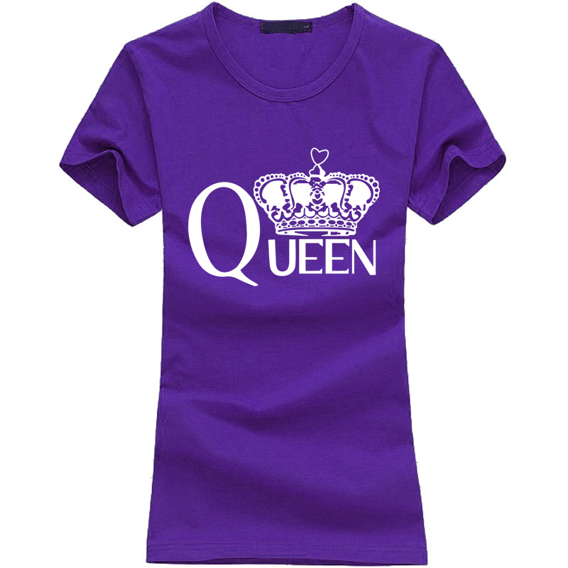 HTB1gwcjKpXXXXagaXXXq6xXFXXXb - Fashion Queen Letters print women t-shirt 2017