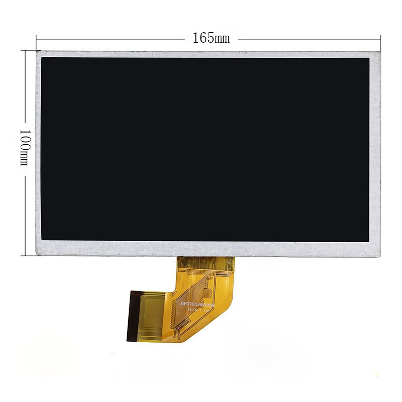 New 7 Inch Replacement LCD Display Screen For DEXP Ursus A370i JOY QUAD 1024*600 tablet PC Free shipping new 7 inch replacement lcd display screen for pocketbook iq701 tablet pc free shipping