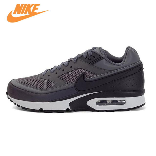 Original New Arrival Authentic Nike Air Max BW 3M Dark Grey Men's Breathable Running Shoes Sports Sneakers Trainers