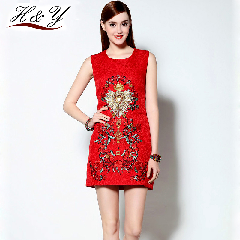 Red summer dresses cheap