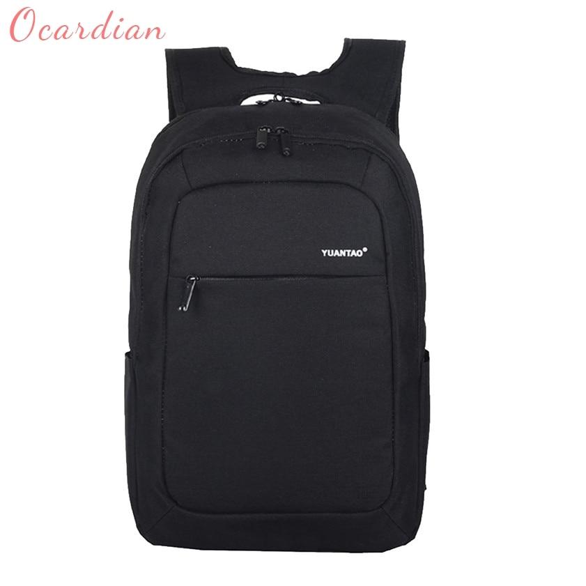 OCARDIAN High quality Women Men Fashion Travel Satchel School Bag Backpack Bag Laptop Bag 170511 bacisco fashion backpack women men high quality laptop backpack school bags for teenager waterproof travel backpacks satchel