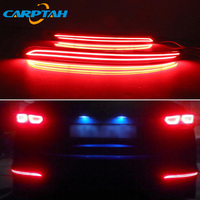2PCS LED Rear Fog Lamp For Hyundai Elantra 2016 2017 2018 Car LED Bumper Light Brake Light Turn Signal Indicator Reflector