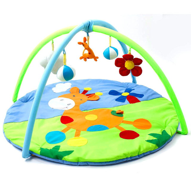 Bear Baby Toy Baby Play Mat 0 1 Year Game Tapete Infantil Educational Crawling Mat Play Gym Cartoon Blanket Puzzle Carpet-In Play Mats From Toys -4752