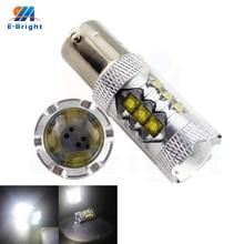 Super Bright 80W 12V 24V 1156 1157 S25 Socket Led Bulbs Auto Brake Tail Parking Turn Signals Corner Light 1920LM Free Shipping