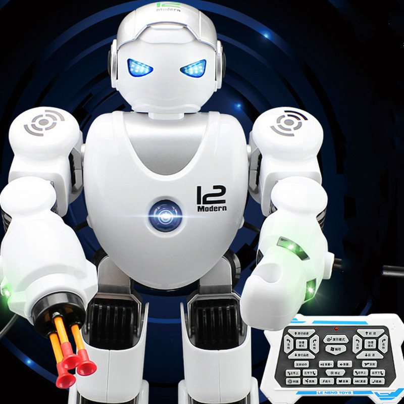 Cdragon smart robot remote control shooting function english version dance sing songs colorful light free shipping