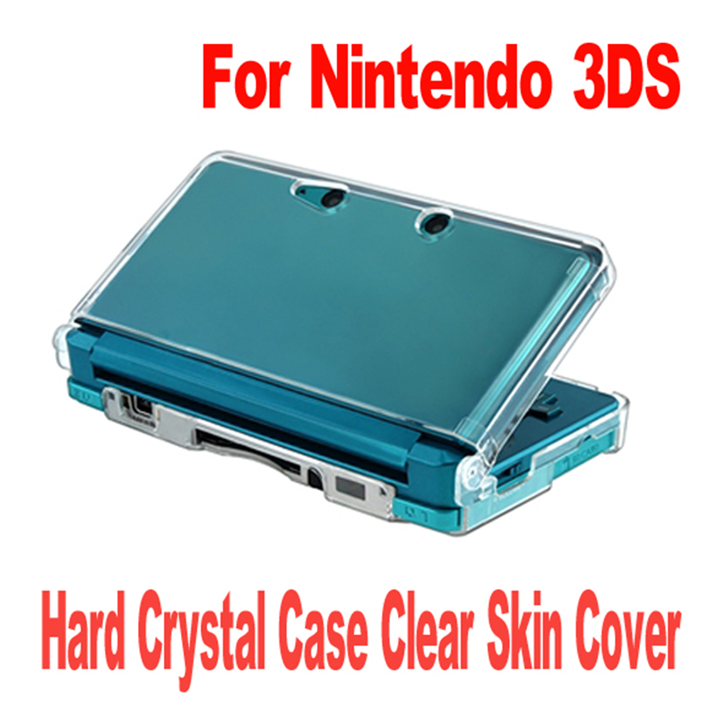Clear Crystal Plastic Hard Skin Transparent Carbonate Case Cover Protective Shell Gamer Accessories for Nintendo for 3DS LL/XL стоимость