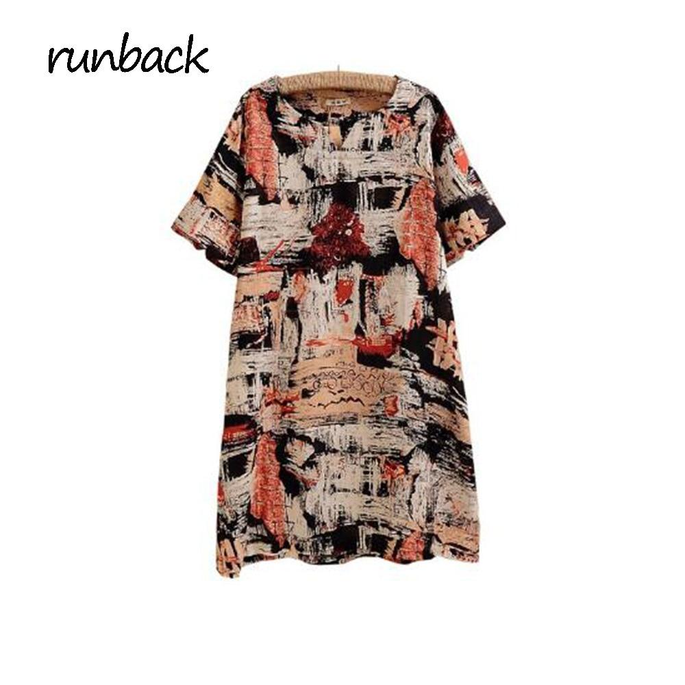 Runback imprimé t-shirts haut pour Femme coton o-cou Shorts manches Ropa Mujer Verano 2019 Vetement Femme Harajuku chemise graphique t-shirts
