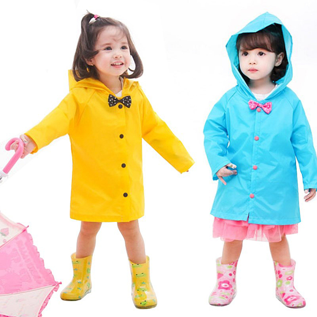 9c01d5674e4 Korean Students Raincoat Children Rain Coat Kids Boys and Girls Fashion  Poncho Waterproof Rainwear Rains Jacket S-L 3 Colors
