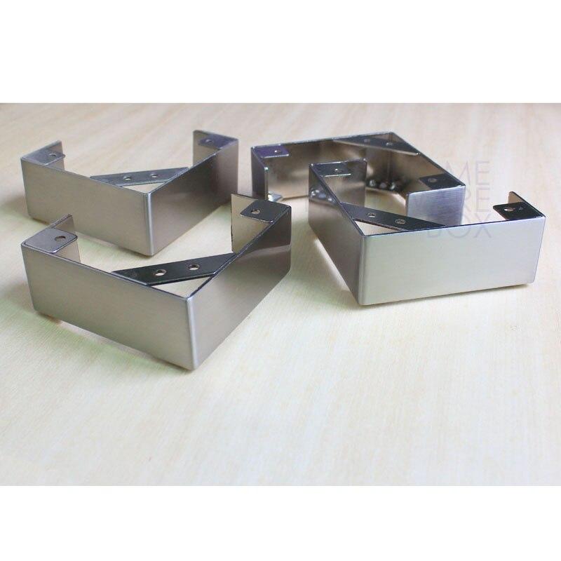 Aliexpress.com : Buy 4 pc L shape stainless steel legs furniture ...