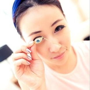 Olho do diabo colar colar do punk olhos azuis colar fasion jóias com charme C192 C193