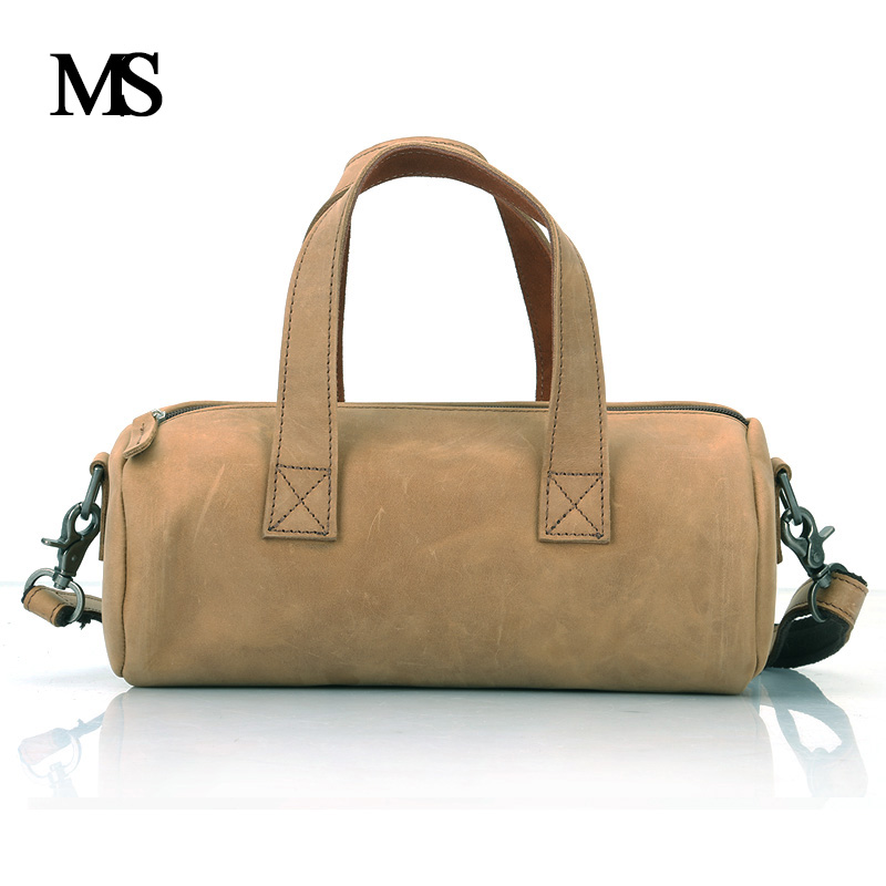 MS New Arrival Real Leather Hangbags For Men Shoulder Bag Cow Leather Business Casual Men