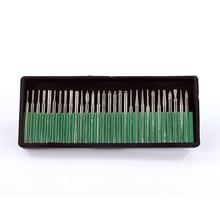30 יח\סט מכירה לוהטת יהלומי Bits Burr מקדחה ערכת עבור חריטת גילוף כרטיס טחינת כלי סט זכוכית גילוף כלים (לא תיבת)