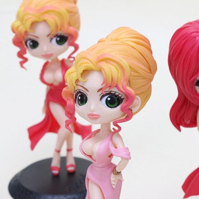 Q поскет принцесса Кано сестры Kyoko & Mika ПВХ Рисунок игрушечные лошадки Figurals модель куклы Brinquedos