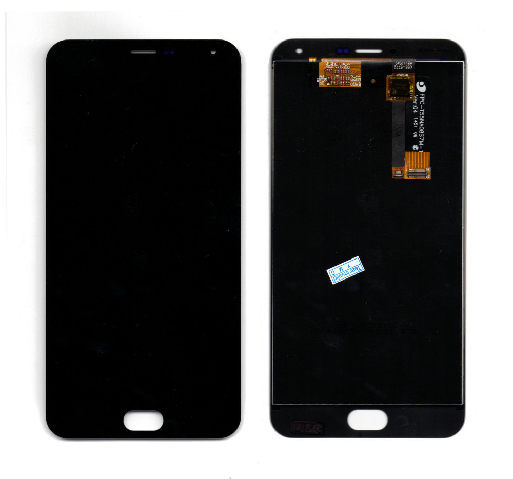 Meizu M2 Note LCD font b Screen b font 100 New LCD Display font b Touch