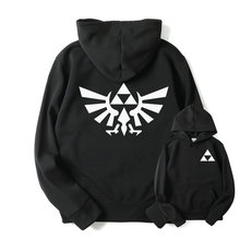 RUMEIAI High Quality The Legend of Zelda Link Hoodies Men Thicken Hoodie Women Anime Pullover Sweatshirt Casual Hip Hop Hoodied