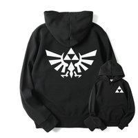 RUMEIAI High Quality The Legend Of Zelda Link Hoodies Men Thicken Hoodie Women Anime Pullover Sweatshirt