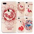 Hot Sale Case For Iphone 6 6s 6plus 5 5s 7 7Plus Chinese New Year Chicken Cover Cute Cartoon Soft Silicon Back Phone Fundas Bag