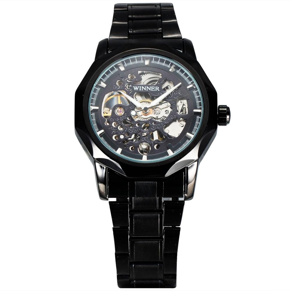 GANADOR de la marca Top Vestido Automático Reloj Mecánico Hombres - Relojes para hombres